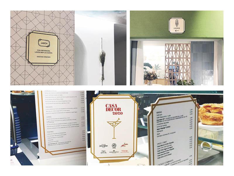 portfolio de diseño gráfico Casa Decor